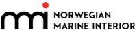 NMI – Norwegian Marine Interior Mobile Logo